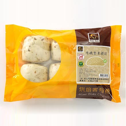 Organic Nuts Steamed Bread
